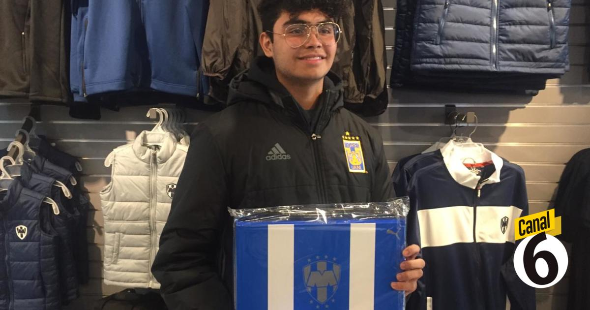 Aficionado Tigre compra jersey de Rayados - Multimedios
