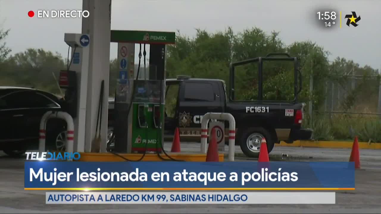 Enfrentamiento en autopista Monterrey-Nuevo Laredo deja una